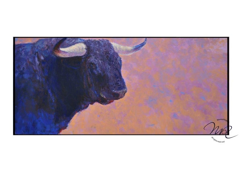 El Rey del Campo  layered oil-paint on canvas  60 x 130 cm   € 6500 SOLD